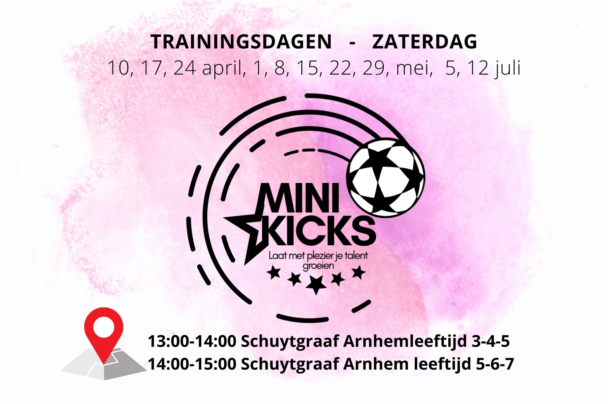 Voetbaloa Mini Kicks Arnhem Schuytgraaf