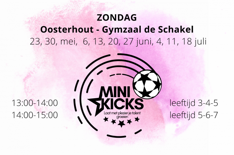 mini kicks oosterhout zondag